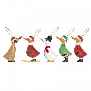 Xmas-2018-Sparkling-Duckling-Hanging-Decorations-Group-500x500